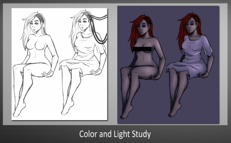 Color and Light Study