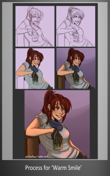 Process for 'Warm Smile'