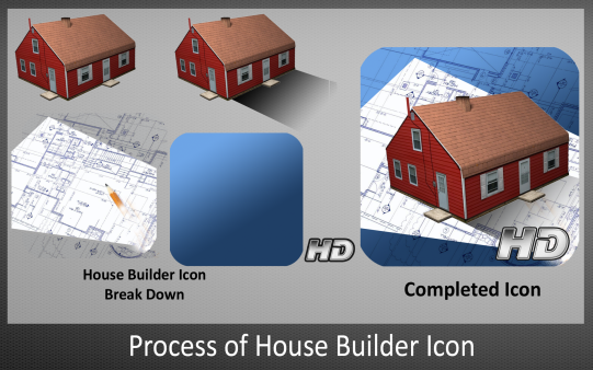 Process of House Builder Icon