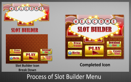 Process of Slot Builder Icon