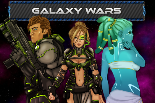 Galaxy Wars Promotional Ad